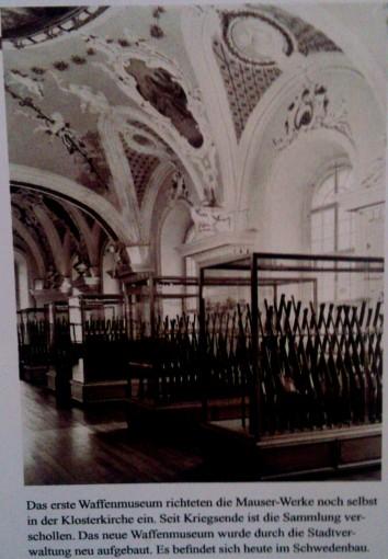 Mauser Waffenmuseum Oberndorf Augustinerkirche