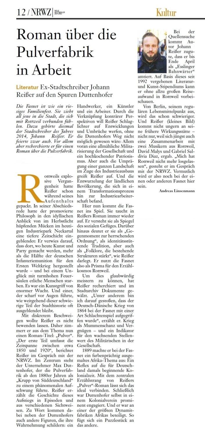 Artikel NRWZ Pulver Mar17_aa